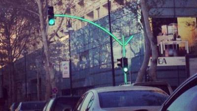 В Баку будут установлены цифровые светофоры
