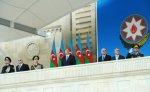 На площади Азадлыг прошел военный парад, посвященный 95-летию Вооруженных сил Азербайджана  [Фото]