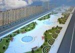 В центре Баку создают еще один большой парк [Фото]