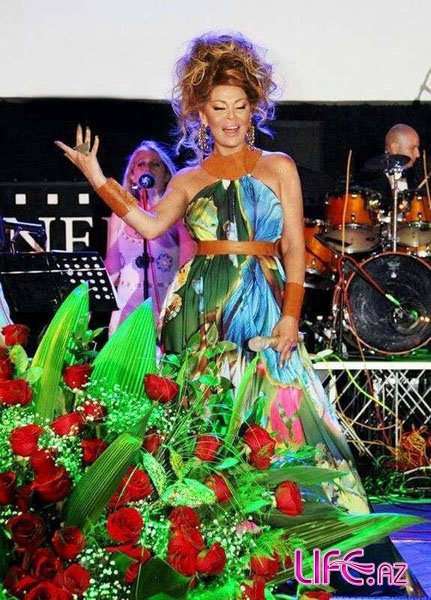 Концерт Айгюн Кязимовой на побережье Каспия