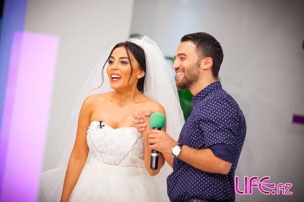 Популярный певец Замик и телеведущая Нана Агамалиева появились в прямом эфи ...