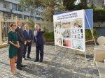 Президент Азербайджана и его супруга приняли участие в открытии школы в  ...