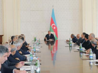 Президент Азербайджана: «Правительство должно подготовить предложения о пов ...
