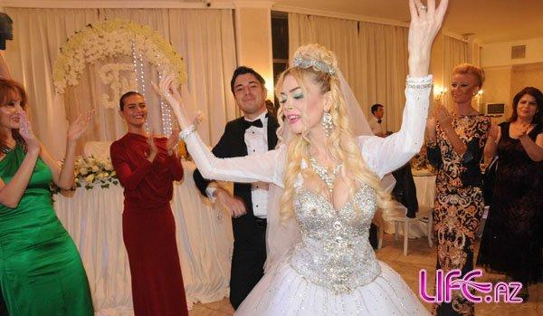 Свадебное торжество атрисы Наины Ибрагимовой