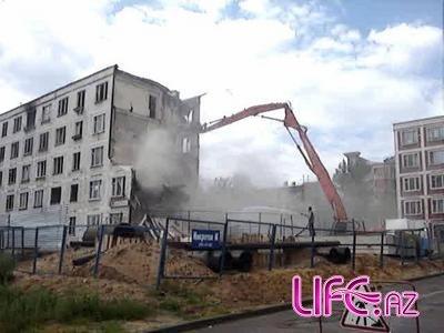 Снос «хрущевок» в Баку начнется с первого микрорайона