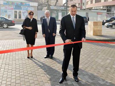 Президент Азербайджана принял участие в открытии Бакинского оздоровительног ...