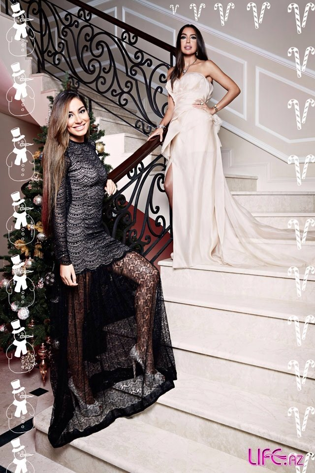 Иконы стиля: Лейла и Арзу Алиевы